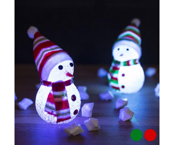 LED Hóember Karácsonyi Dekoráció 145896 Szín Zöld