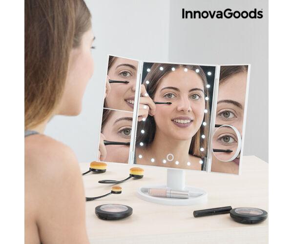 InnovaGoods 4 az-1 ben Nagyító LED Tükör