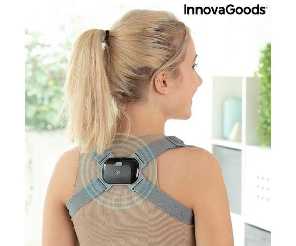 Újratölthető intelligens, vibrációs testtartást javító Viback InnovaGoods