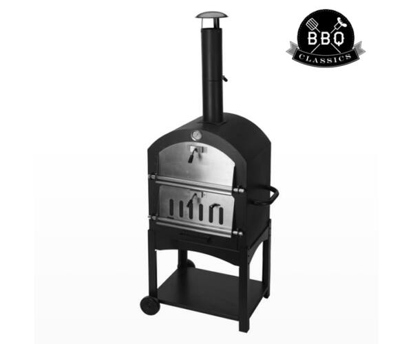 BBQ Classics 1864VA Faszenes Barbecue Sütő Kőkemencével