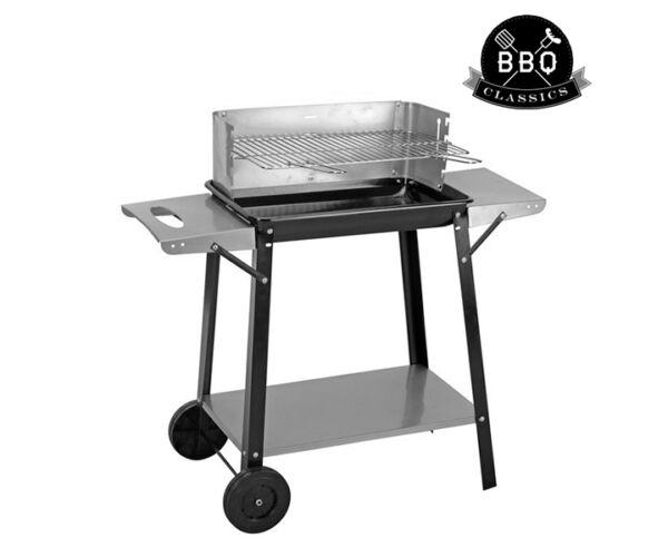 BBQ Classics Faszenes Barbecue Kerekekkel és Tálcával