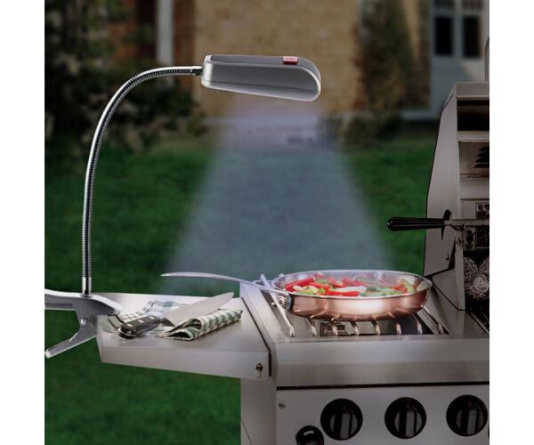 BBQ Barbecue Lámpa Csipesszel (9 LED Lámpa)