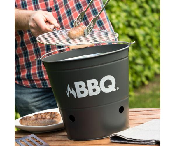 BBQ Faszenes Barbecue Vödör